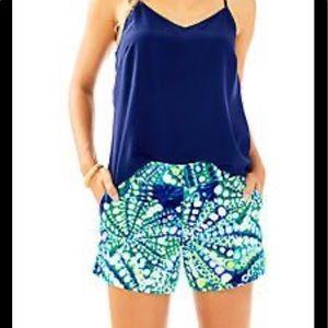 Lilly Pulitzer Callahan stretch shorts 6